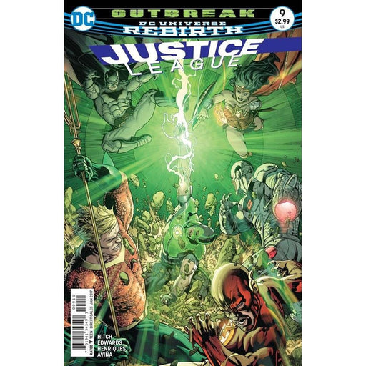 Justice League #9-Georgetown Comics