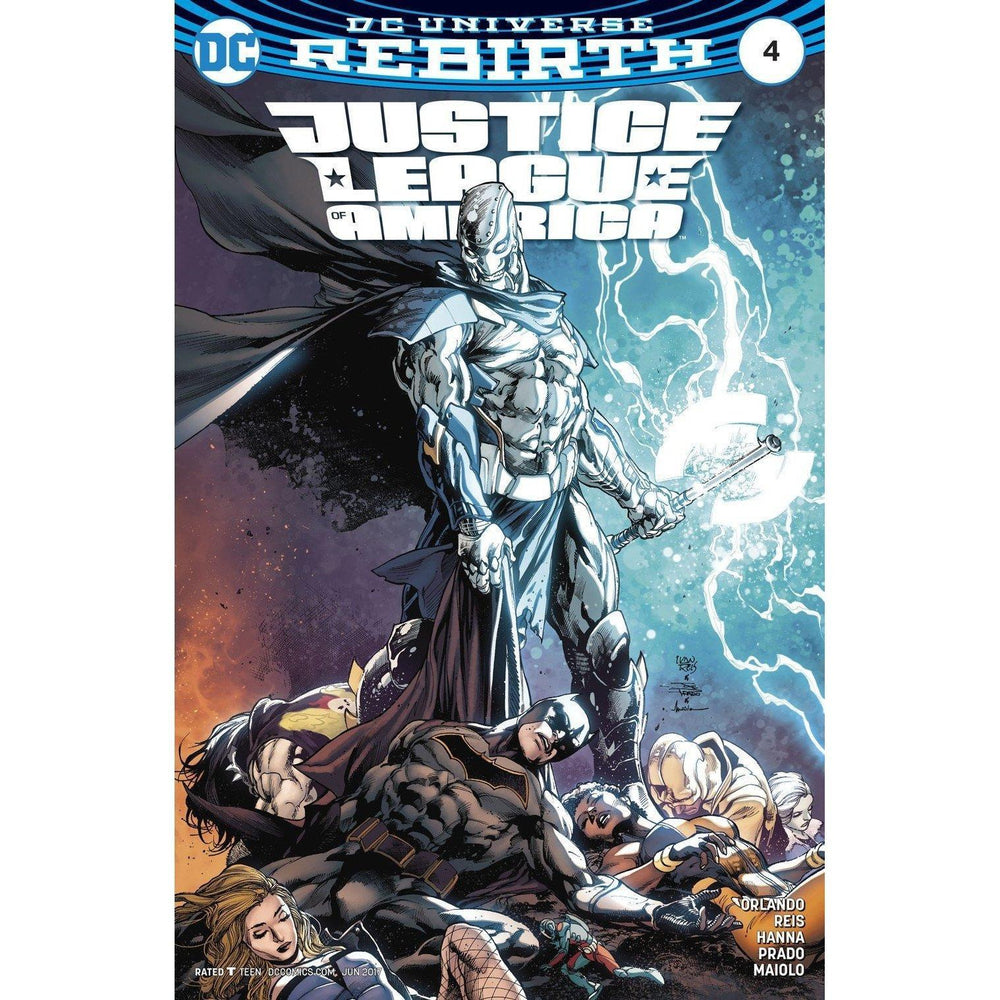 Justice League Of America #4-Georgetown Comics