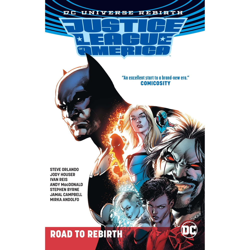 Justice League Of America The Road To Rebirth TP-Georgetown Comics