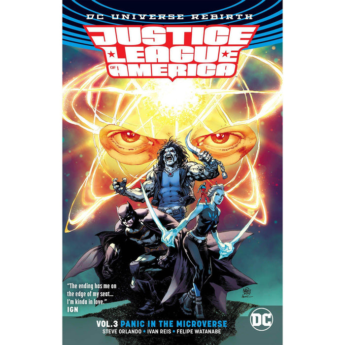 Justice League Of America TP Vol 03 Panic Microverse Rebirth-Georgetown Comics