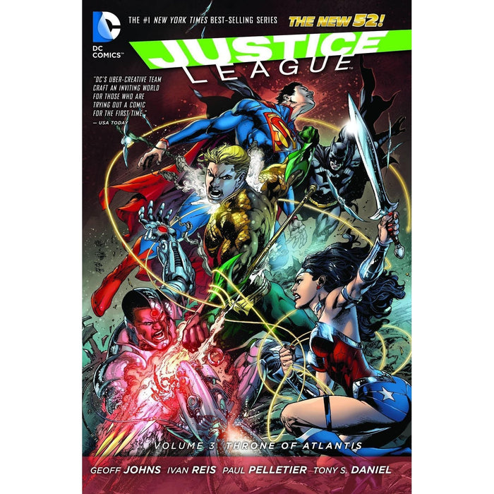 Justice League TP Vol 03 Throne Of Atlantis (N52)-Georgetown Comics