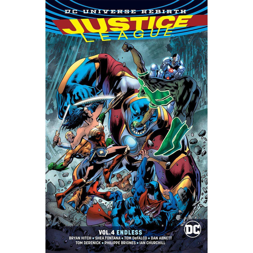Justice League TP Vol 04 Endless (Rebirth)-Georgetown Comics