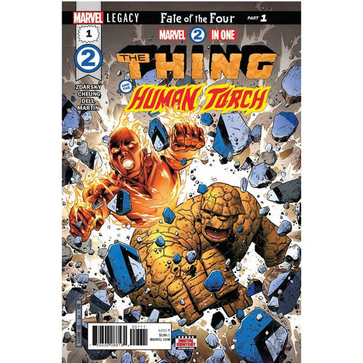 Marvel Two-In-One #1 Legacy-Georgetown Comics