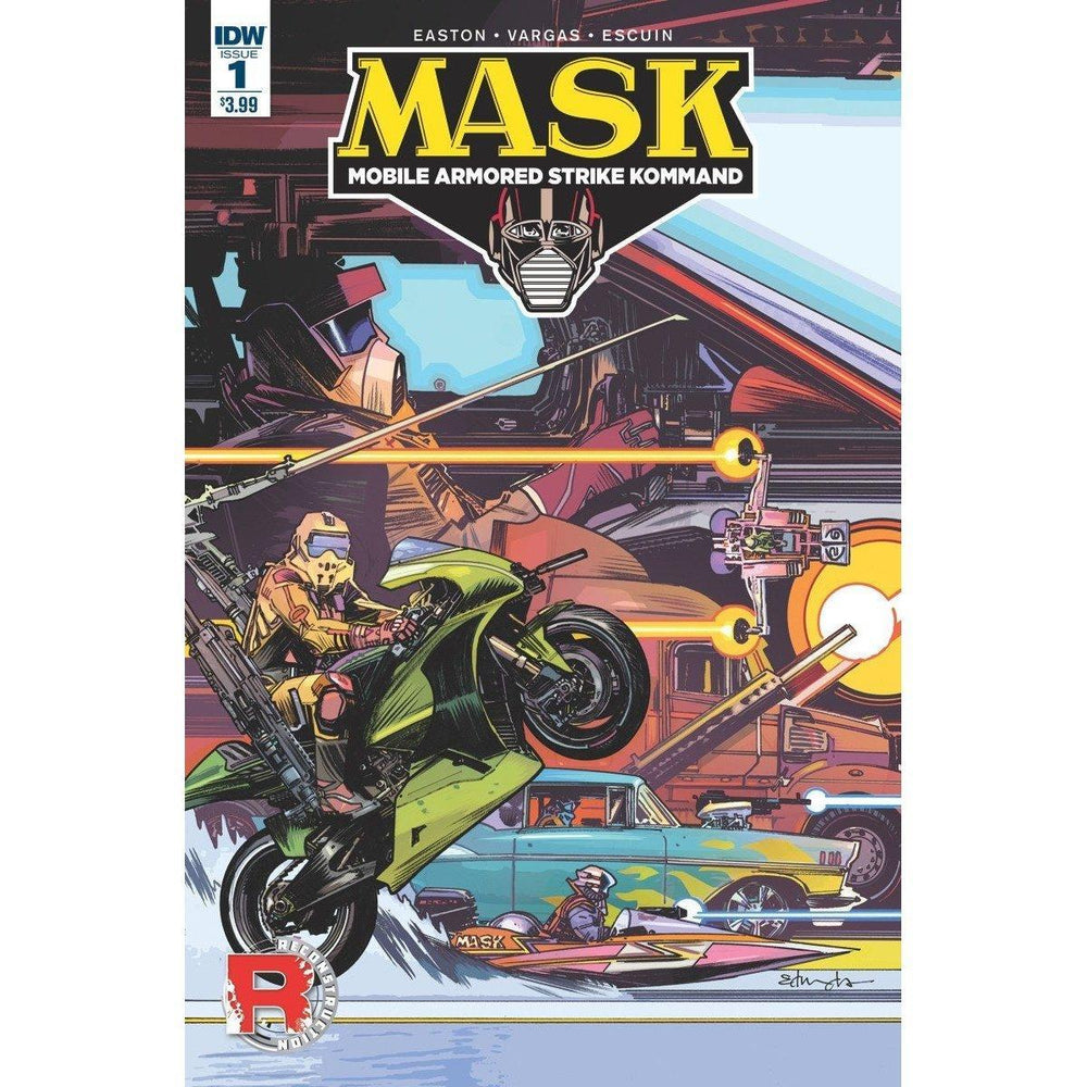 Mask Mobile Armored Strike Kommand #1-Georgetown Comics