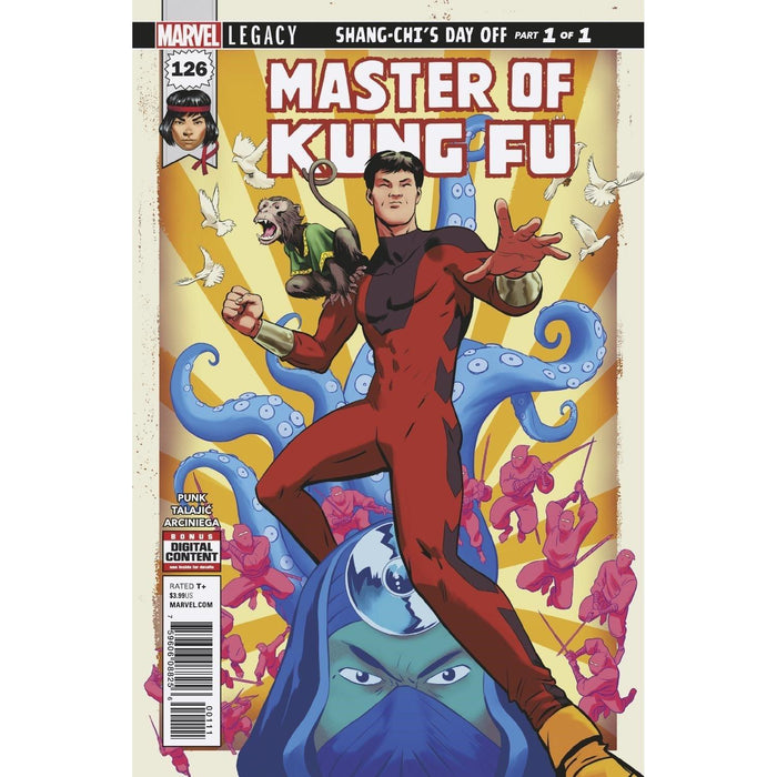 Master Of Kung Fu #126 Legacy-Georgetown Comics