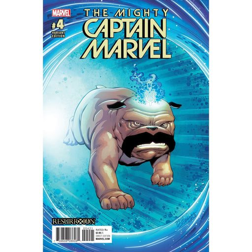 Mighty Captain Marvel #4 Lim Resurrxion Var-Georgetown Comics