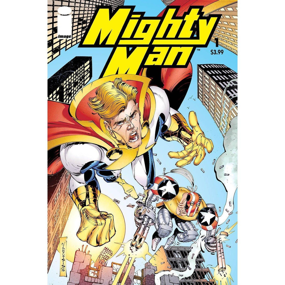 Mighty Man (One Shot)-Georgetown Comics
