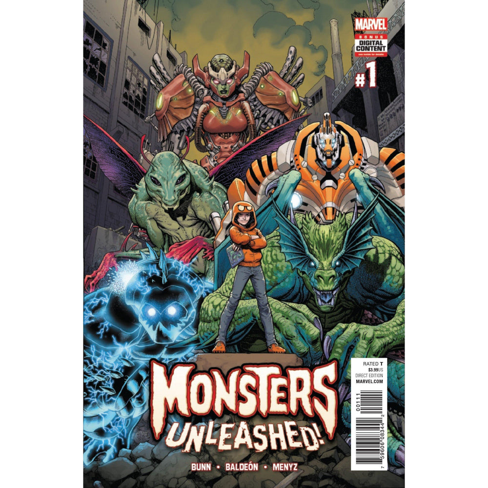 Monsters Unleashed #1-Georgetown Comics