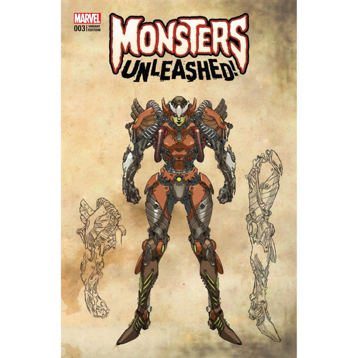 Monsters Unleashed #3 (Of 5) Yu Monster Var-Georgetown Comics