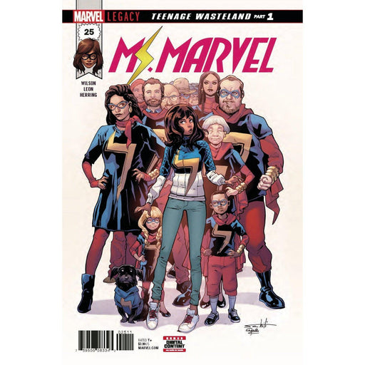 Ms Marvel #25 Legacy-Georgetown Comics