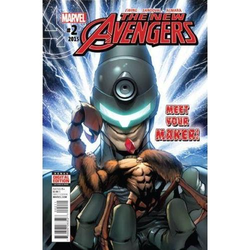 New Avengers #2-Georgetown Comics