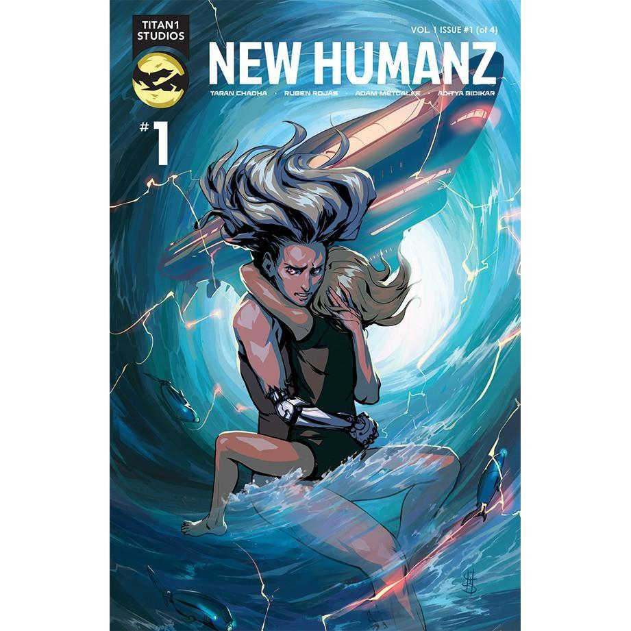 New Humanz #1 (Of 4)-Georgetown Comics