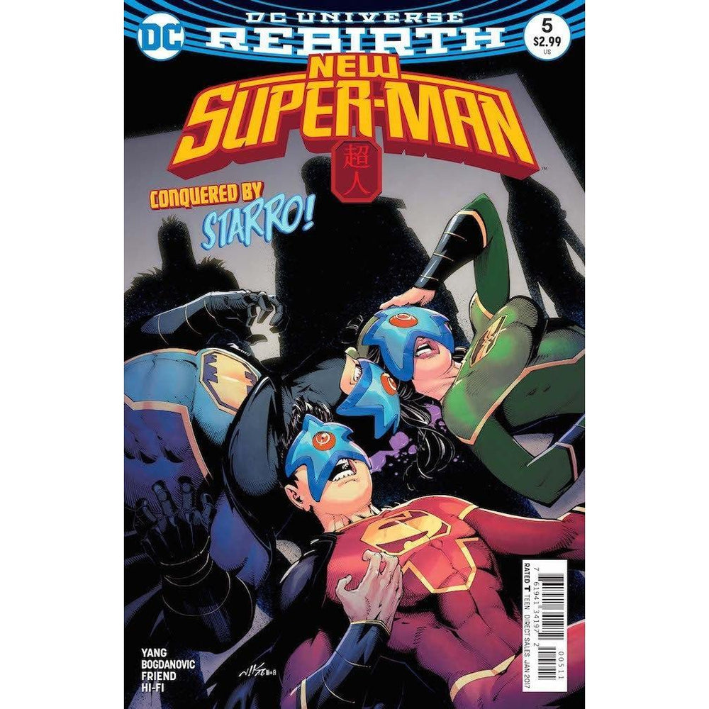 New Super Man #5-Georgetown Comics