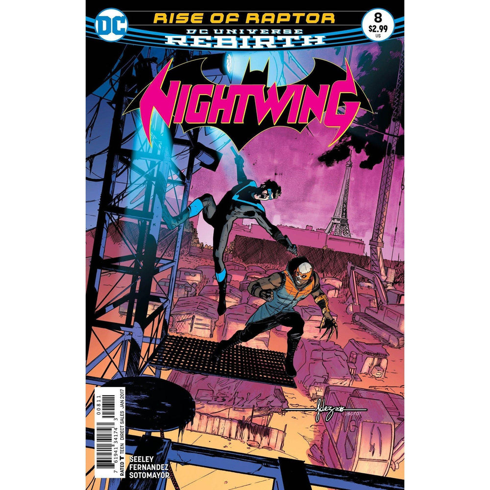Nightwing #8-Georgetown Comics