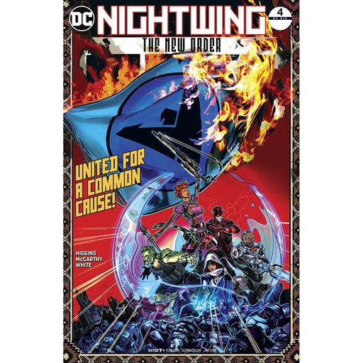 Nightwing The New Order #4 (Of 6)-Georgetown Comics