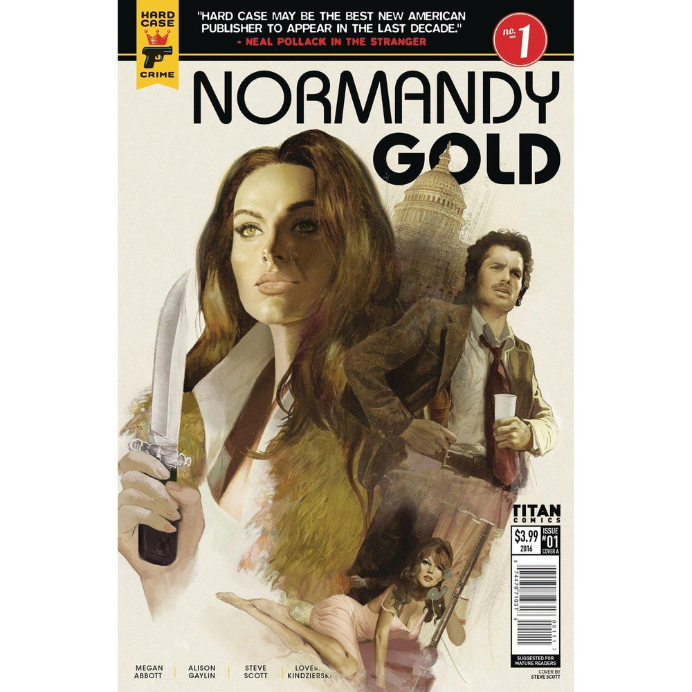 Normandy Gold #1 Cvr A Dalton-Georgetown Comics