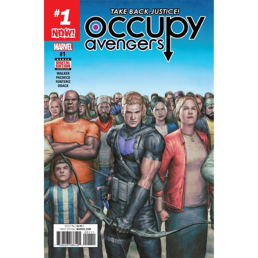 Occupy Avengers #1 Now-Georgetown Comics