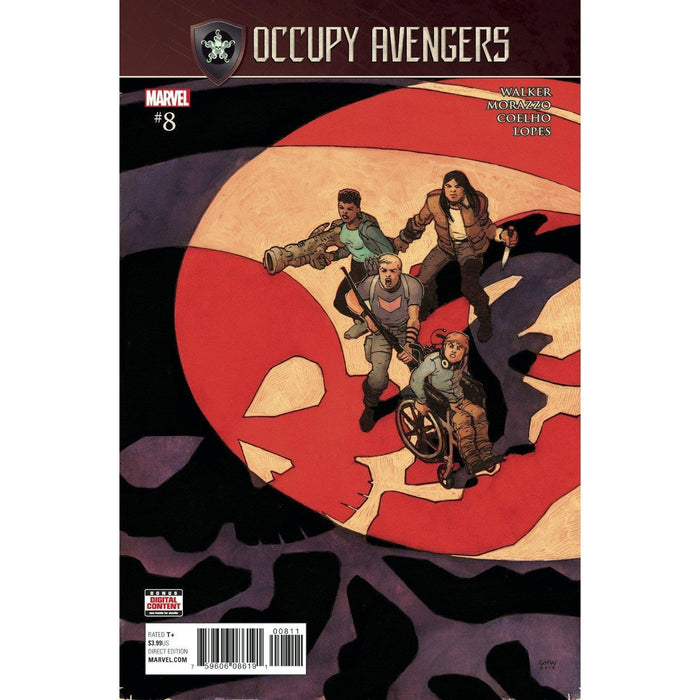 Occupy Avengers #8 SE-Georgetown Comics