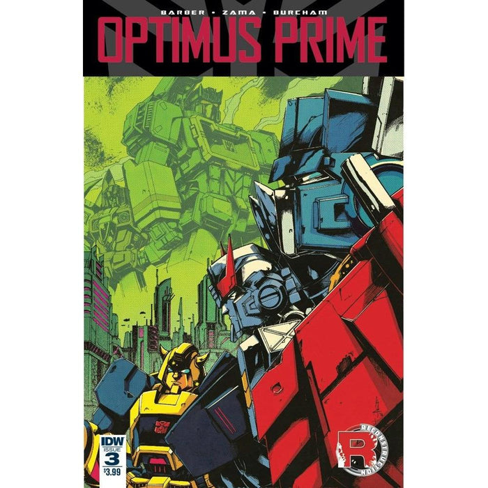 Optimus Prime #3-Georgetown Comics
