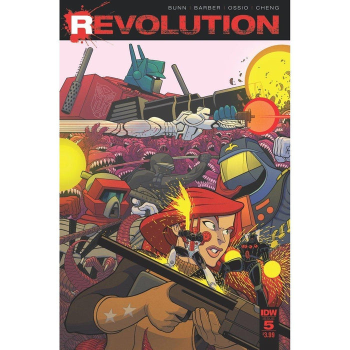 Revolution #5 (Of 5)-Georgetown Comics