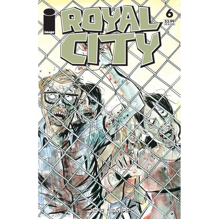 Royal City #6 Cvr C Walking Dead #16 Tribute Variant-Georgetown Comics