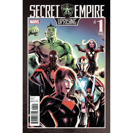 Secret Empire Uprising #1 Albuquerque Var-Georgetown Comics