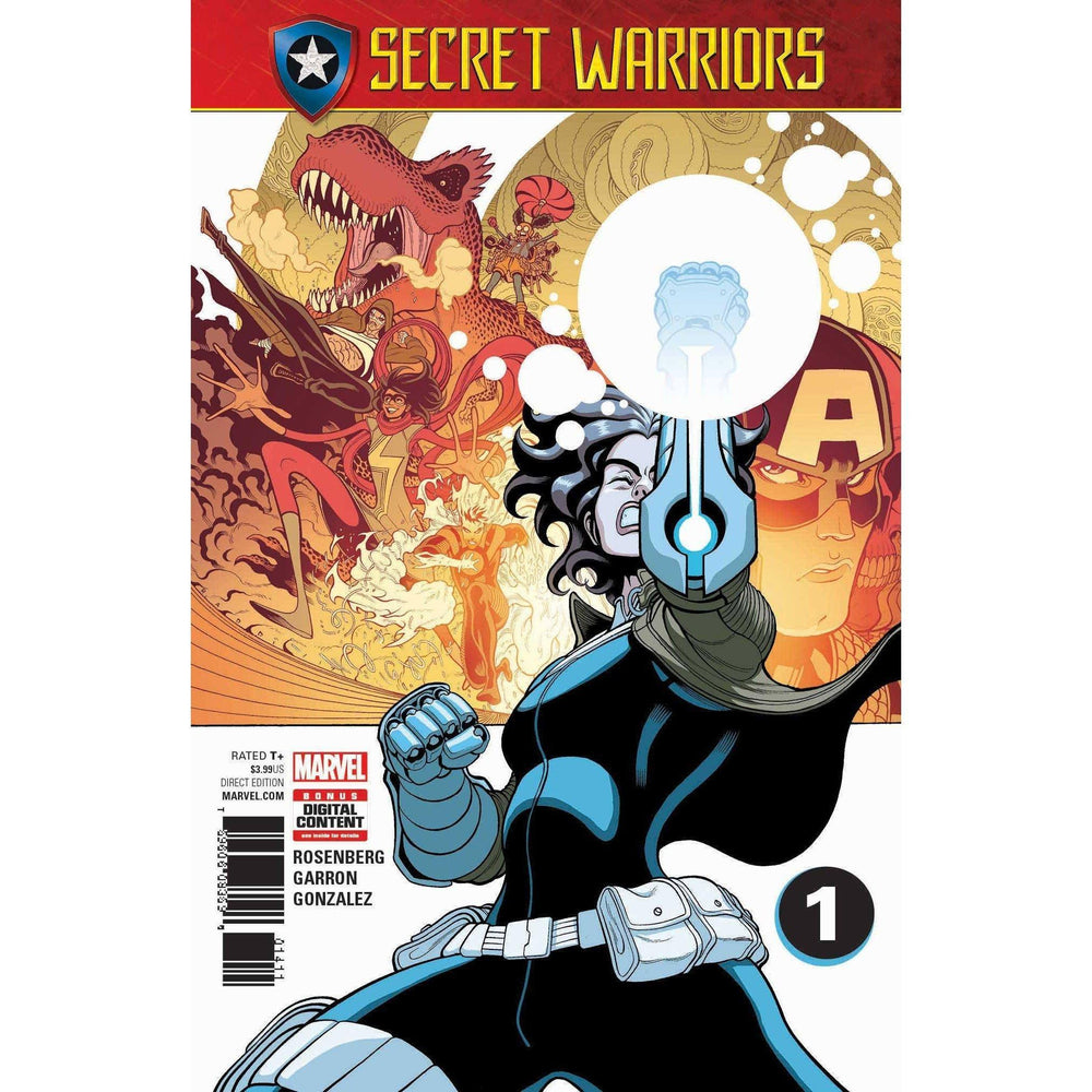 Secret Warriors #1 SE-Georgetown Comics