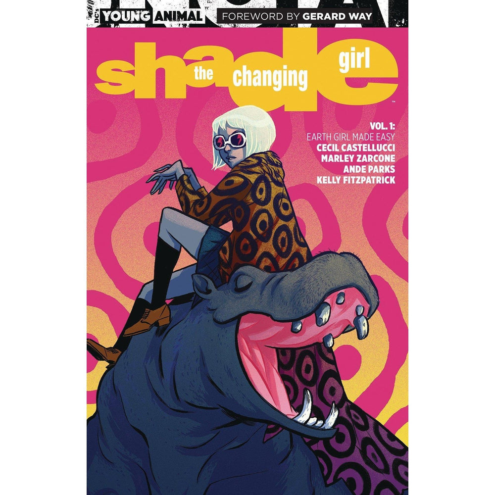 Shade The Changing Girl TP Vol 01 Earth Girl Made Easy-Georgetown Comics