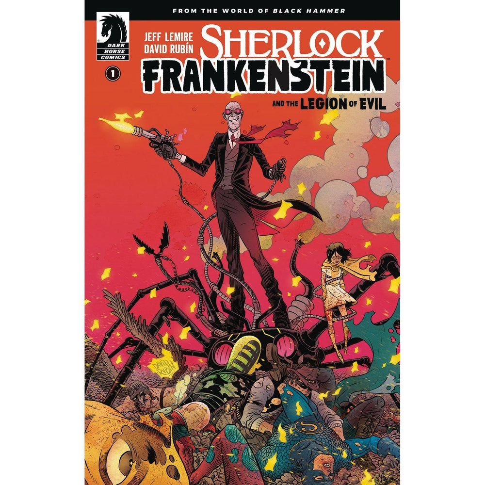 Sherlock Frankenstein & Legion Of Evil #1 (Of 4) Main-Georgetown Comics
