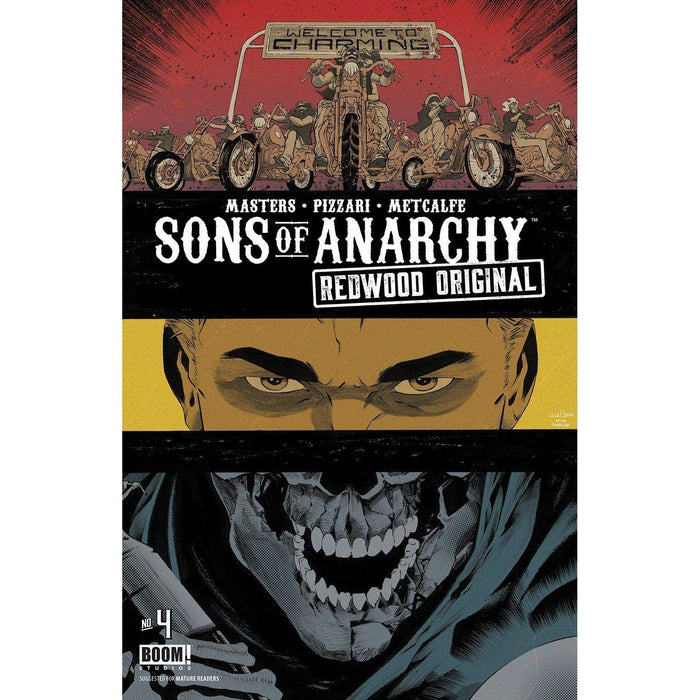 Sons Of Anarchy Redwood Original #4 Subscription Pizzari Var-Georgetown Comics