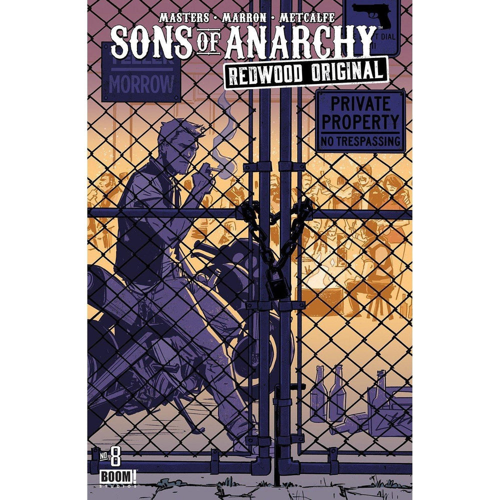 Sons Of Anarchy Redwood Original #8 Sub Revel Cvr-Georgetown Comics