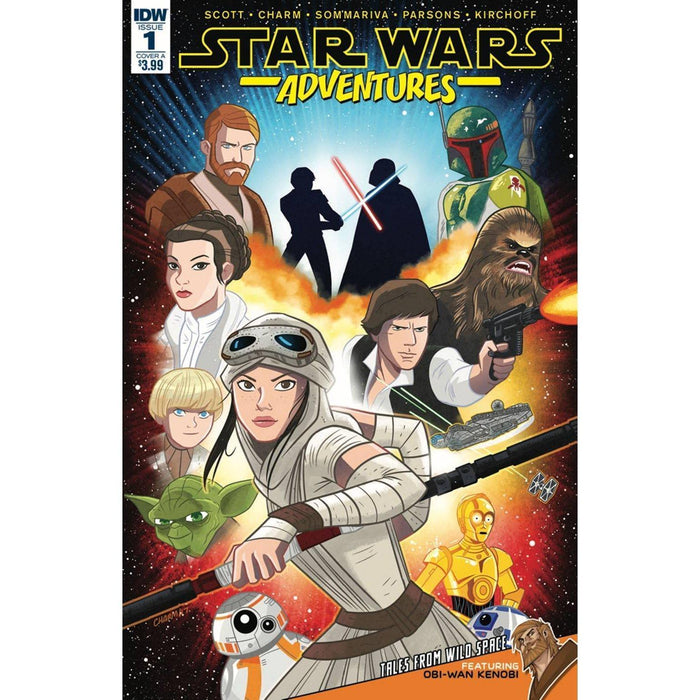 Star Wars Adventures #1 Cvr A Charm-Georgetown Comics