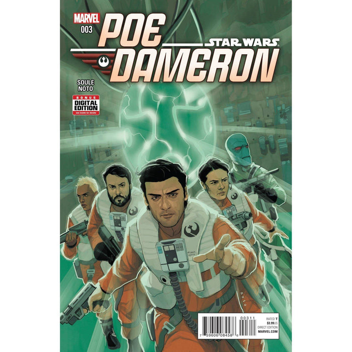 Star Wars Poe Dameron #3-Georgetown Comics