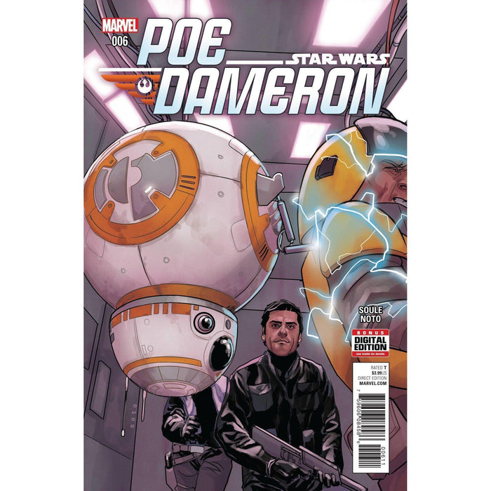 Star Wars Poe Dameron #6-Georgetown Comics
