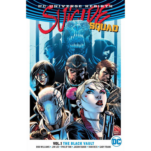Suicide Squad TP Vol 01 The Black Vault (Rebirth)-Georgetown Comics