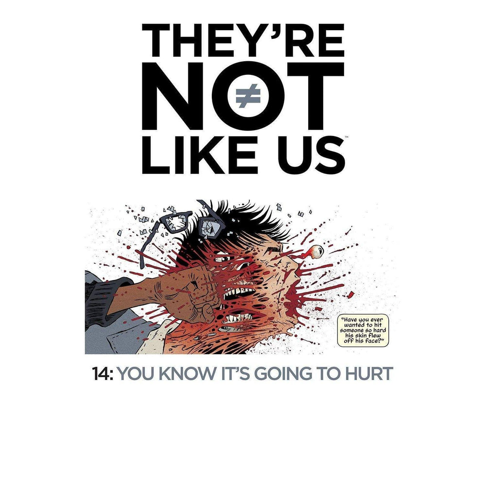 Theyre Not Like Us #14-Georgetown Comics
