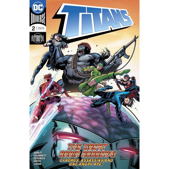 Titans Annual #2-Georgetown Comics