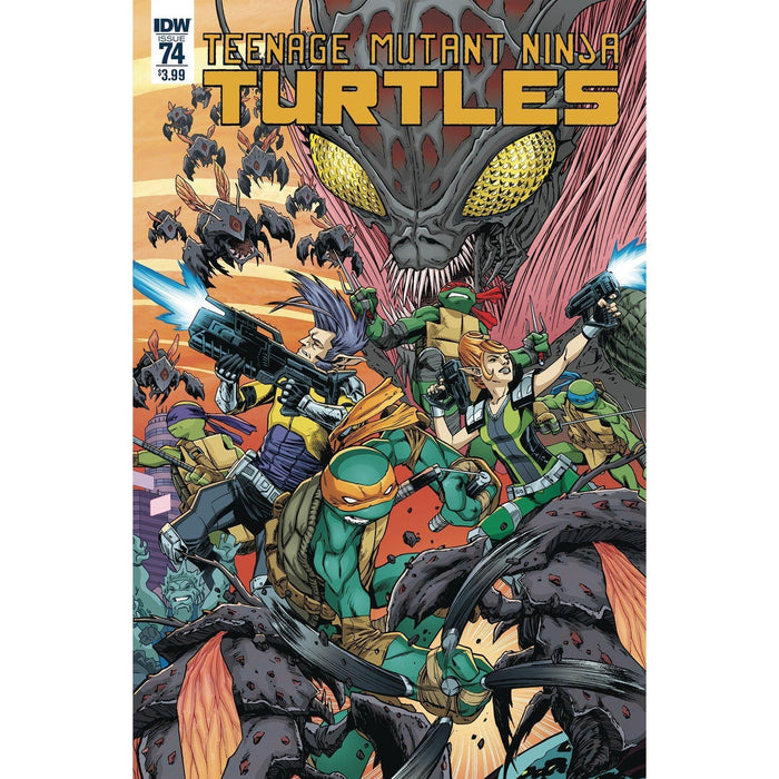 TMNT Ongoing #74 Cvr A Smith-Georgetown Comics