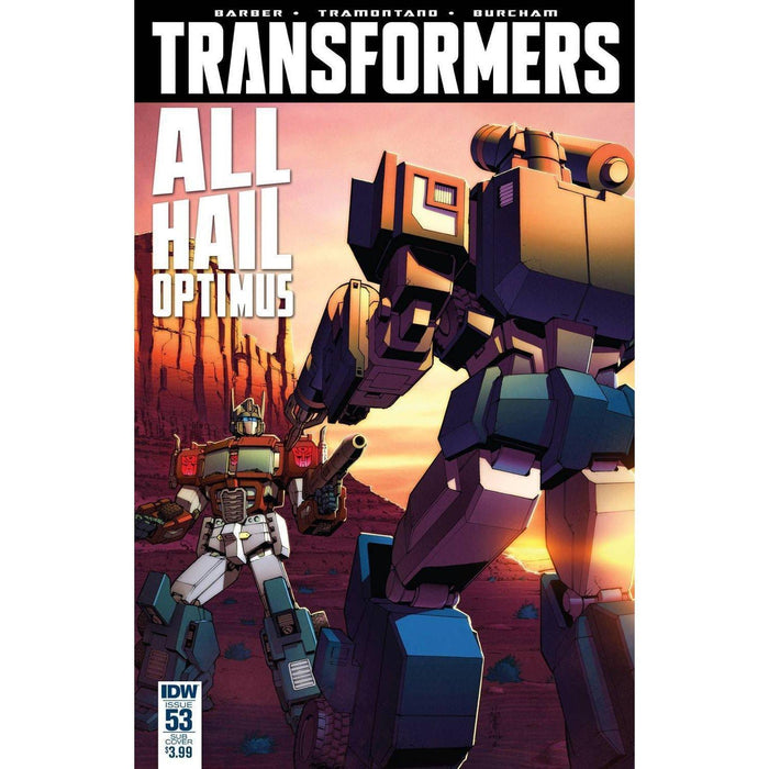 Transformers #53 Sub Variant-Georgetown Comics