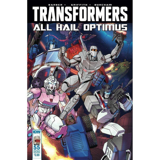 Transformers #55 Rom Variant-Georgetown Comics