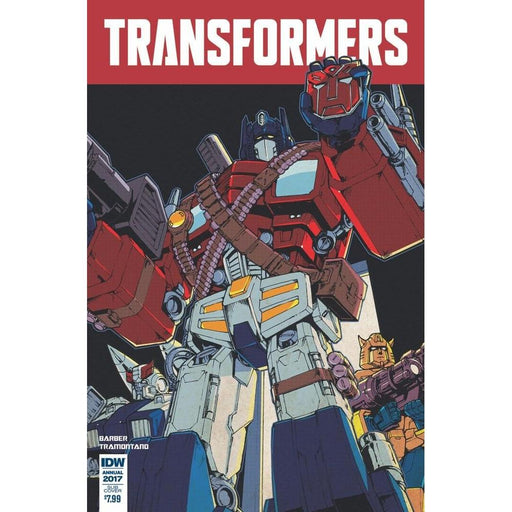 Transformers Annual 2017 #1 Subscription Var-Georgetown Comics