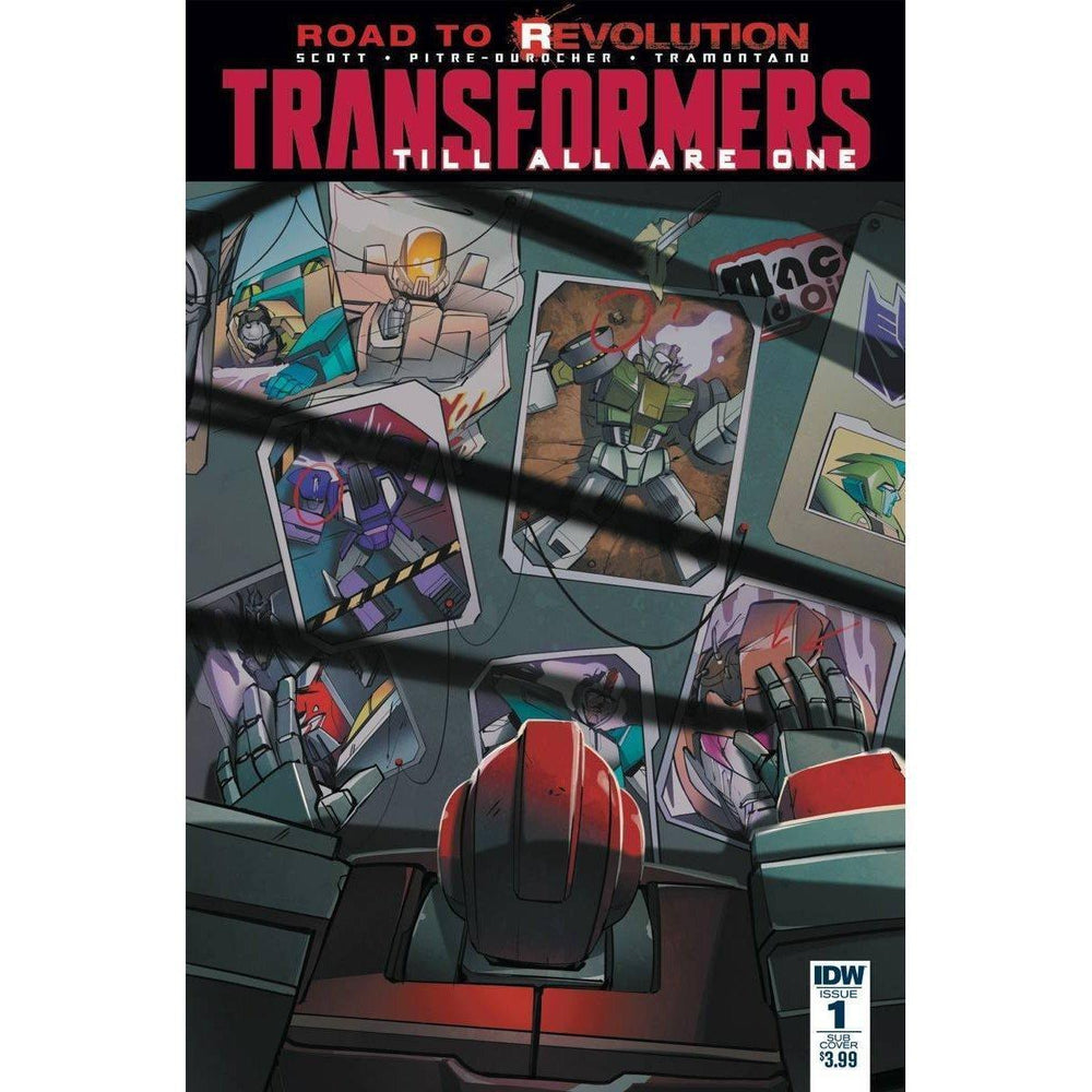 Transformers Till All Are One #1 Variant-Georgetown Comics