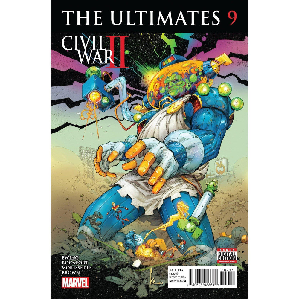 Ultimates #9 CW2-Georgetown Comics