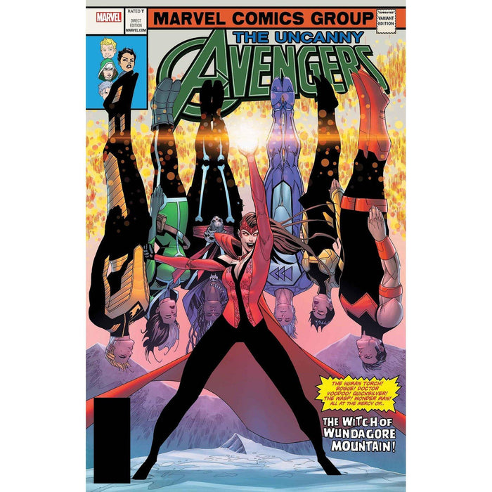 Uncanny Avengers #28 Malin Lenticular Homage Variant-Georgetown Comics