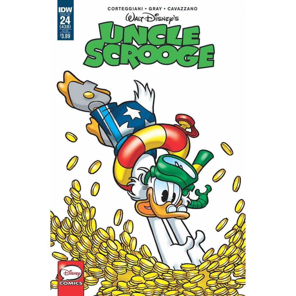 Uncle Scrooge #24 Sub Var-Georgetown Comics
