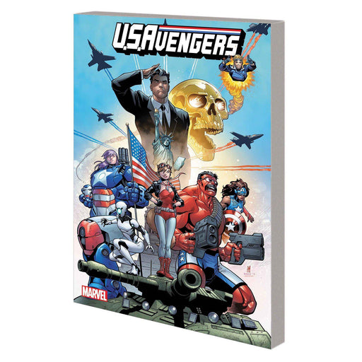 Us Avengers TP Vol 01 American Intelligence Mechanics-Georgetown Comics