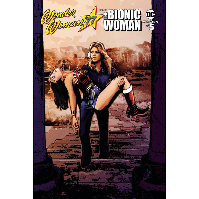 Wonder Woman 77 Bionic Woman #5 (Of 6) Cvr A Staggs-Georgetown Comics
