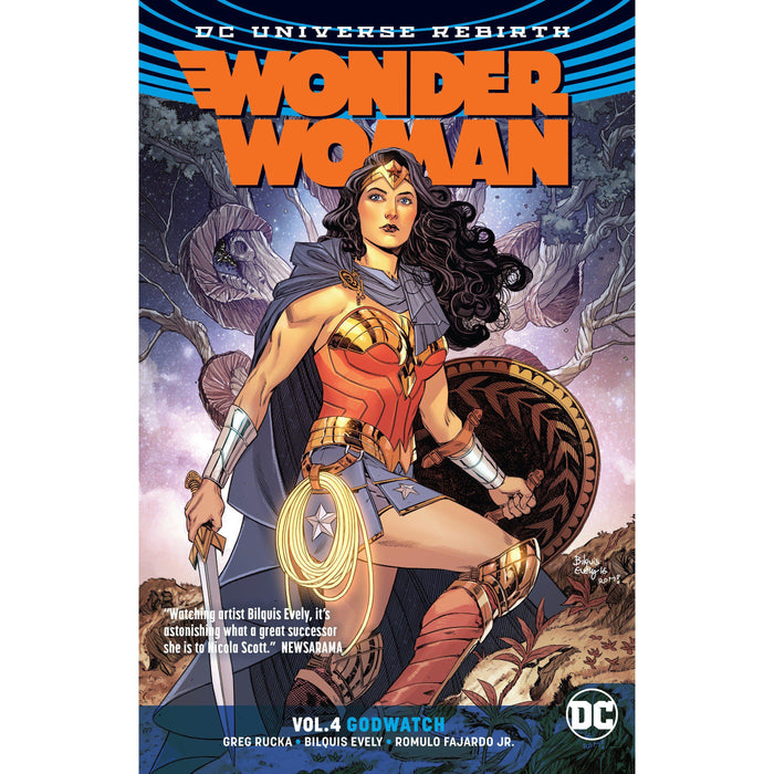 Wonder Woman TP Vol 04 Godwatch (Rebirth)-Georgetown Comics