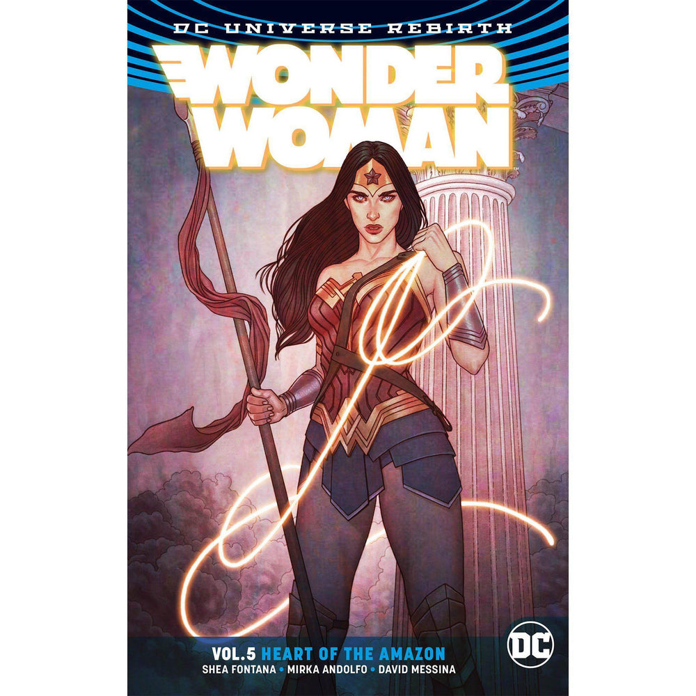 Wonder Woman TP Vol 05 Heart of the Amazon TP Rebirth-Georgetown Comics