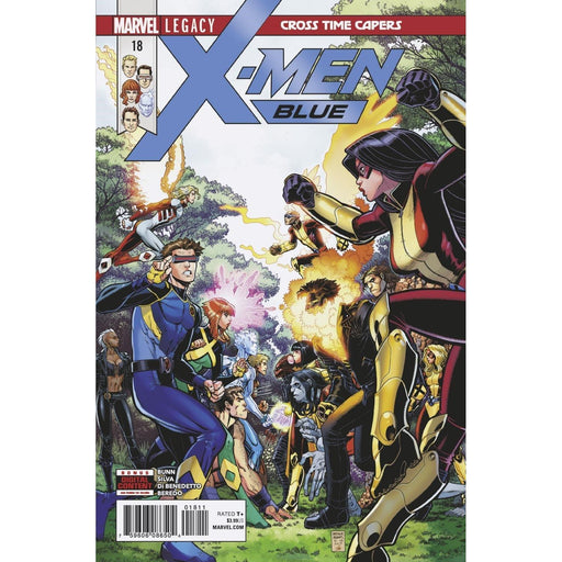 X-Men Blue #18 Legacy-Georgetown Comics